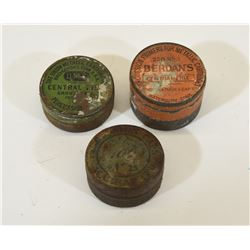 Vintage Percussion Tins