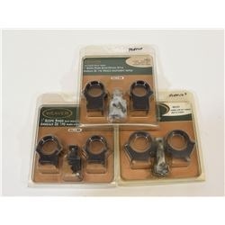 Weaver Scope Ring Sets New in Package