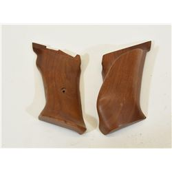 Left Handed Wood Grips for Browning Medalist 22