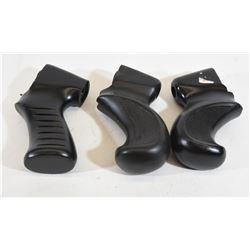 Three Shotgun Pistol Grips