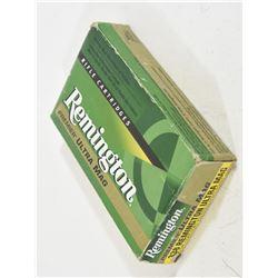 20 Rounds Remington 338 Rem Ultra Mag