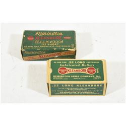 100 Rounds Remington 22 Cal Ammunition