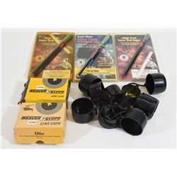 Box Lot Optic Shotgun Sights & Lens Covers