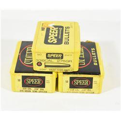 103 Pieces Speer 275gr Spitzer Projectiles