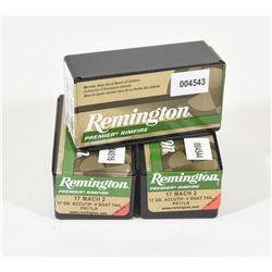 150 Rounds Remington 17 Mach 2 - 17grn