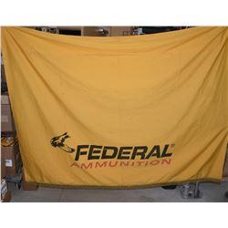 Cloth Federal Ammunition Banner 6' x 8'