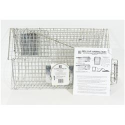 "New Bell Collapsible Live Animal Trap 7"" x7"" x 24"