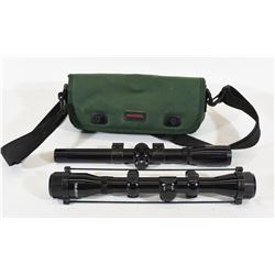 2 Scopes and Winchester Scope Case