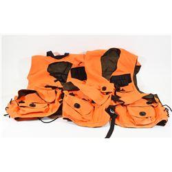 Two New Large & XL Orange Vests