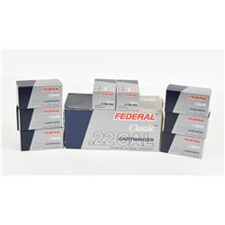 400 Rounds Federal 22 Win Mag