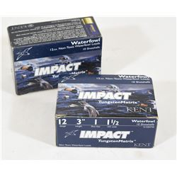 "20 Rounds Impact 12 Ga x 3"" Tungsten Matrix"