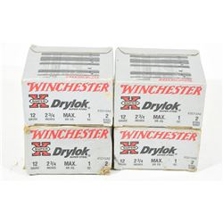 "80 Rounds Winchester 12 Ga x 2 3/4"" Steel"