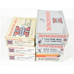 106 Rounds Box Lot Rifle Ammunition