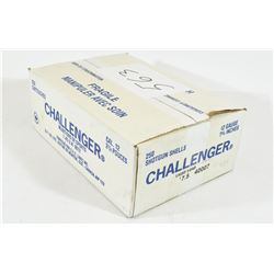 "250 Rounds Challenger 12 Ga. X 2 3/4"" #7 1/2 Shot"