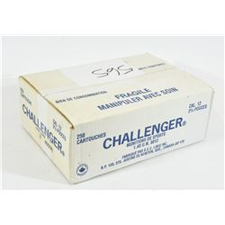 "250 Rounds Challenger 12 Ga x 2 3/4"" #8 Shot"