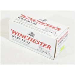500 Rounds Winchester Wildcat 22 LR
