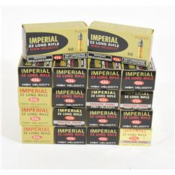 900 Rounds Imperial 22 LR High Velocity Ammunition