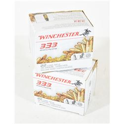 666 Rounds Winchester 22 LR 36gr HP Copper Plated