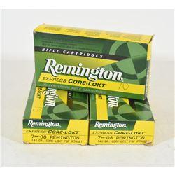 43 Rounds Remington 7mm-08 140gr Core-Lokt