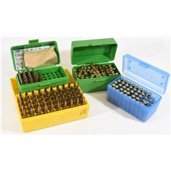 150 Rounds 22 Hornet Reloads in Ammo Cases