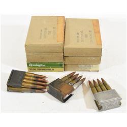 148 Rounds 30-06 30M2 Ammunition