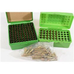 162 Rounds 22 Hornet Reloads & 22 Pieces Of Brass