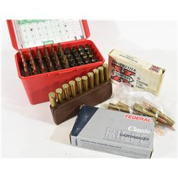 88 Rounds Mixed 300 Win. & 20 Pieces of Brass