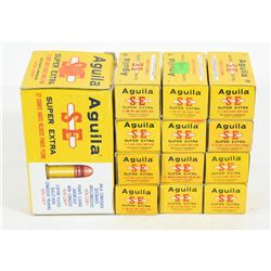 1000 Rounds Aguila 22 Cal. LR High Velocity Solid