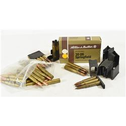 54 Rounds Mixed 30-06 Ammunition