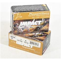 "20 Rounds Impact 16 Ga. X 2 3/4"" #5 Shot Tungsten"