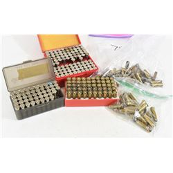 172 Rounds Mixed  38/357 Mag Reloaded  Ammunition