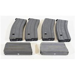 6 AR Steel Magazine Pinned to 5 Rounds