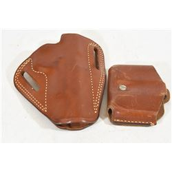 Alessi 1911 Holster and Double Mag Pouch