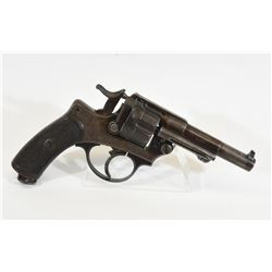 French 1874 Service Handgun Dated 1877