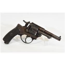 French 1874 Service Handgun Dated 1877