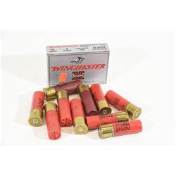 "18 Rounds Winchester 12ga x 3"" Unplated 00 Bucksho"