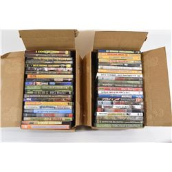 2 Boxes Assorted Hunting DVDs
