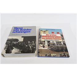 2 German WWII Hard Cover Books