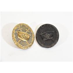 2  Wound Badges