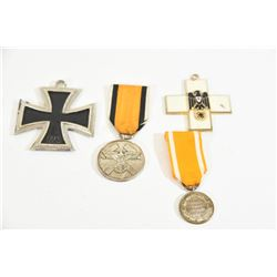 4 Miscellaneous Nazi Ribbon Medals
