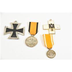 4 Miscellaneous Nazi Ribbon Medals