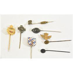 8 Mixed Stick Pins