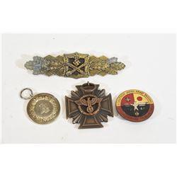 3 Nazi Service Medals