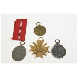 4 Nazi Medals