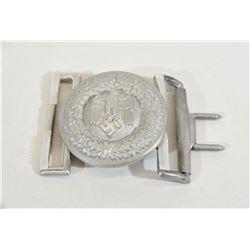 Aluminum Officers 3-Piece Buckle
