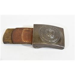 1940 Army Steel Buckle with Tab