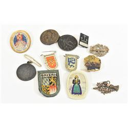12 Miscellaneous German Pins
