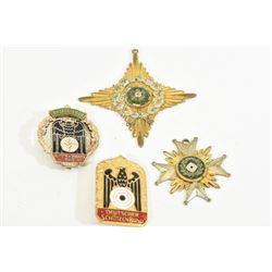 4 Miscellaneous German Badges