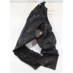 ProSpeed Leather Riding Chaps