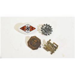 4 Lapel Pin Badges